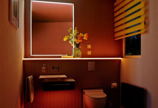 Keuken met LED-verlichting